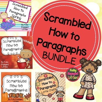 How To Paragraphs Bundle