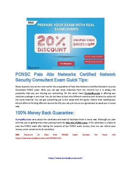 How To Pass Paloalto Networks PCNSC Exam [2019] In First Attempt