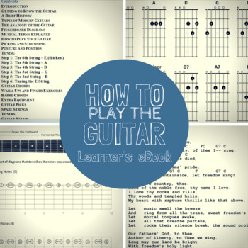 How To Play Guitar: Guitar Basics eBook