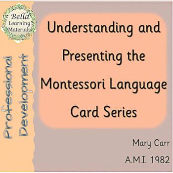 How To Present Montessori Language Cards