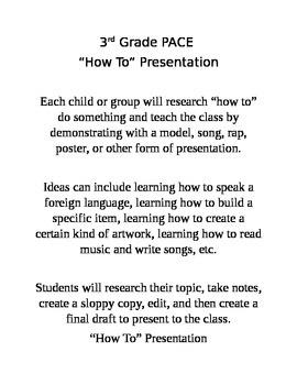 """How To"" Presentation"