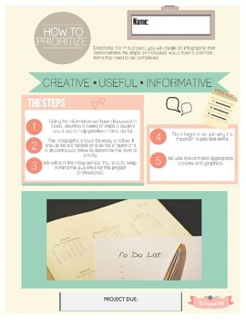 How To Prioritize Infographic Project