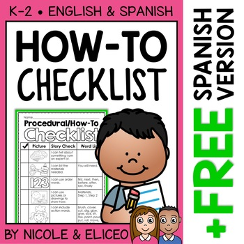 Writing Checklist - Procedural How-To