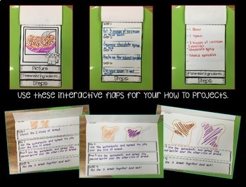 How To: Procedural Text Interactive Flaps