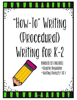 How To (Procedural) Writing ** Bundle