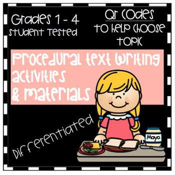 How-To/Procedural Writing - Differentiated