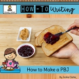 How-To Procedural Writing: How to Make a Peanut Butter and Jelly Sandwich