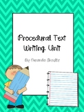 How-To Procedural Writing Unit