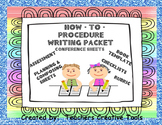 How-To Procedure Writing Packet