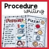 Procedure Writing Worksheets
