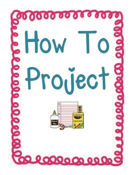 How To Project/Homework Activity