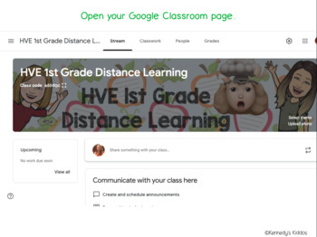 How To Put TPT Files in Google Classroom