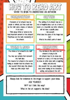 How To Read Art - Resource for Students