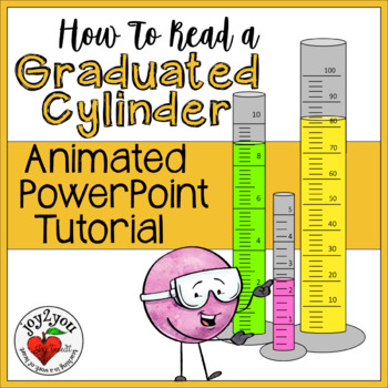 How To Read Graduated Cylinders - Animated PowerPoint Tutorial - Science Skill
