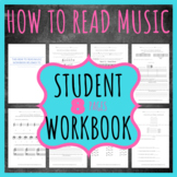 How To Read Music Student Lesson Workbook