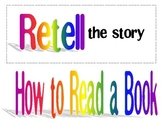 How To Read a Story Poster