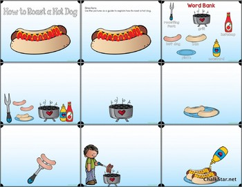 How To Roast a Hot Dog Writing PowerPoint™
