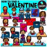How To Send A Valentine Clip Art Bundle {Educlips Clipart}