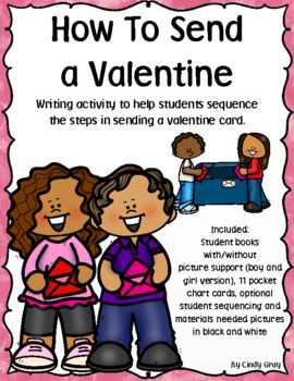 How To Send A Valentine ~ Writing