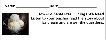 How-To Sentences