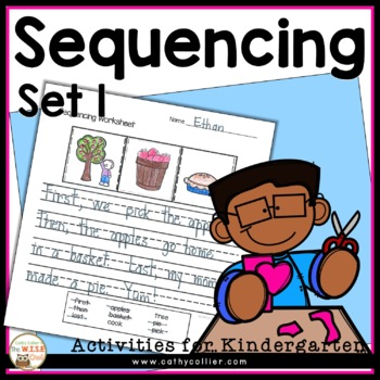 Comprehension Strategies: Sequencing for Early Learners: Set 1