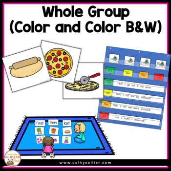 Comprehension Strategy Sequencing Set 1