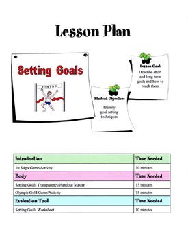 How To Set Goals Lesson