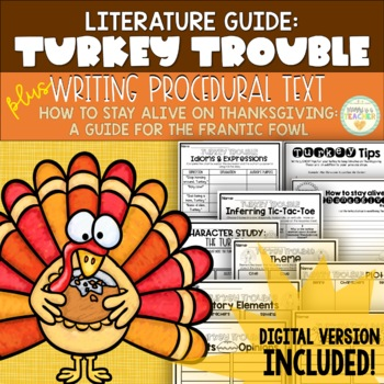 How-To Stay Alive on Thanksgiving: Turkey Tips {Writing Procedural Text}