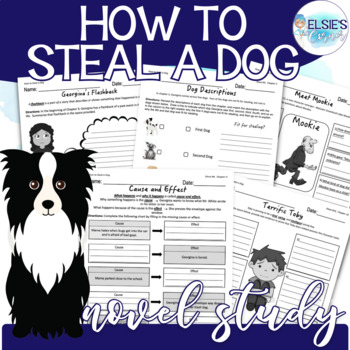 How To Steal a Dog Lessons / Comprehension Printables