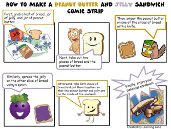 Freebie How To Story Board & Comic Strip Examples