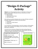 How To Teach Branding, Packaging, and Labeling- Design O Package Activity