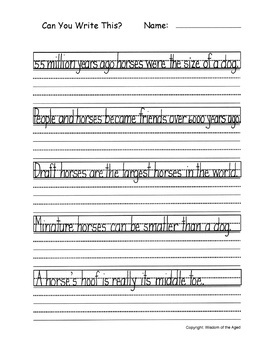How To Teach Cursive Handwriting To Yourself Or Your Class Section 14