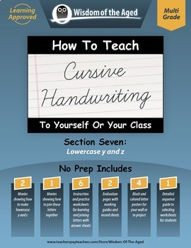 How To Teach Cursive Handwriting To Yourself Or Your Class Section 7