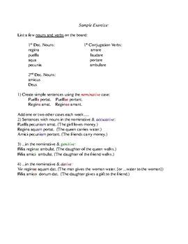 How To Teach Latin Noun Cases
