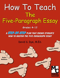 How To Teach the Five-Paragraph Essay: eBook