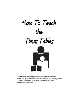How To Teach the Times Tables