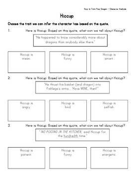 How To Train Your Dragon Literature Unit