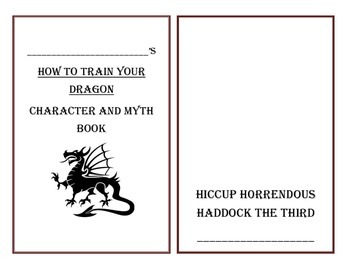 How To Train Your Dragon - Character Book