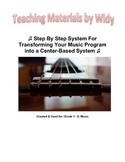 How To Transform Your K-6 Music Classroom To A Center-Based System