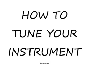 How To Tune Your Orchestra Instrument