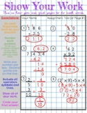 How To Use Scratch Paper in Math