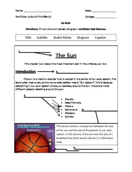 How To Use a Glossary - Solar System