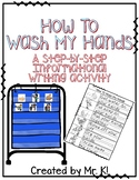How To Wash My Hands - Writing