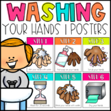 How-To Wash Your Hands Posters   Social Distancing