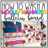 How To Wash a Woolly Mammoth Bulletin Board Kit