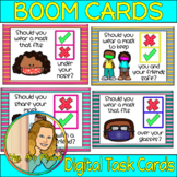 How To Wear a Mask Boom Cards