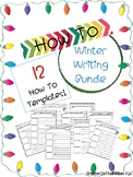 How To Winter Writing Holiday Bundle Pack