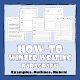 How-To Winter Writing Paragraph