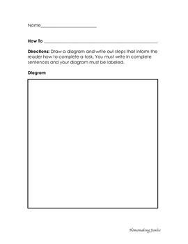 How To Worksheet