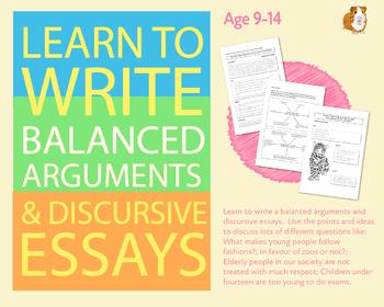 How To Write A Balanced Argument Or A Discursive Essay (9-